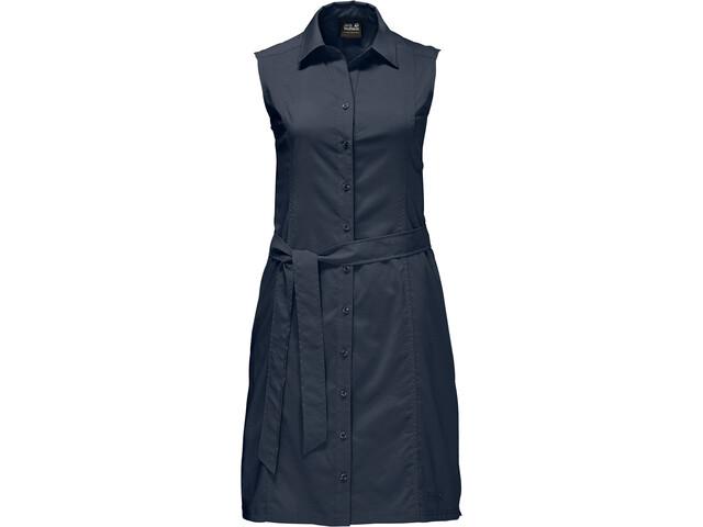 Jack Wolfskin Sonora jurk Dames blauw